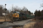 CSX 5463 at Rossville interlocking